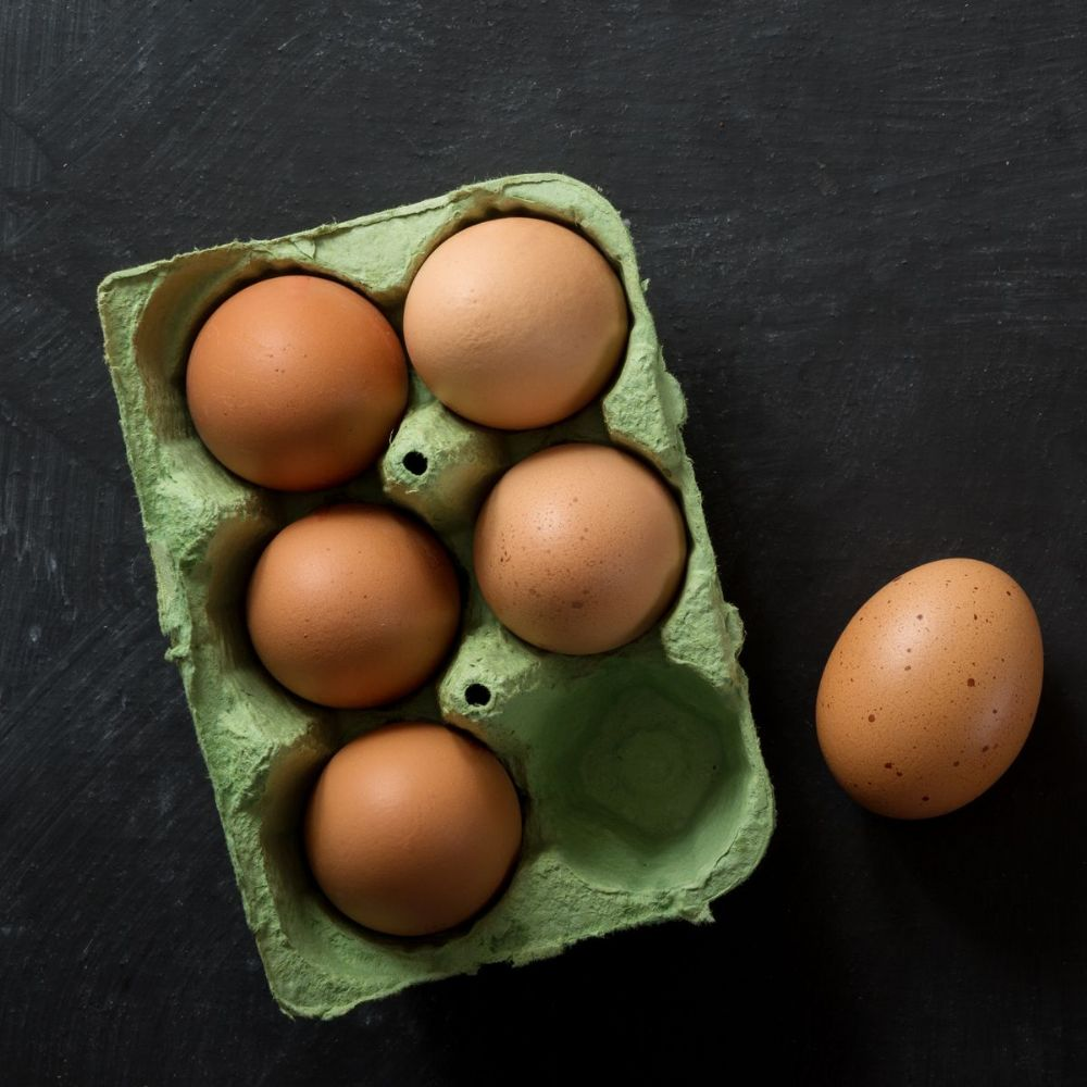 Organic Eggs (box of 6)